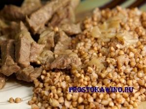 Как приготовить кашу с мясом
