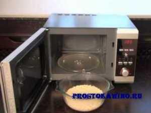 Особенности приготовления каши в микроволновке