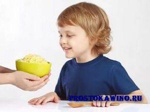 Каша в жизни ребенка