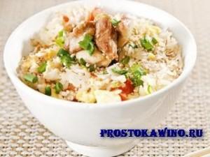 Рисовая каша с курицей. Вкусные рецепты