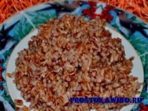 Рецепты каш из бурого риса