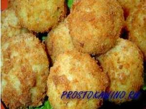 Пшенные крокеты с грибной начинкой и рецепт их приготовления
