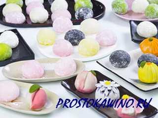 Японские десерты моти